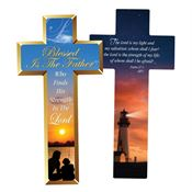 Blessed Is The Father Who Finds His Strength In The Lord Deluxe Die-Cut Bookmark