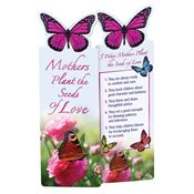 Mothers Plant The Seeds of Love Deluxe Die-Cut Bookmarks