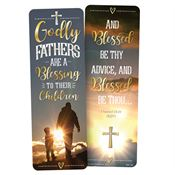 Godly Fathers Are A Blessing To Their Children Deluxe Bookmark