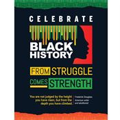 Black History: Strong Roots, Amazing Achievements Poster