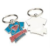 Superheroes in Scrubs Die-Cut Key Tag With Keepsake Card