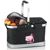Pink: The Symbol Of Hope, The Color Of Strength Picnic Cooler