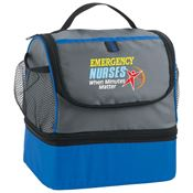 Emergency Nurses When Minutes Matter Bayport Dual Compartment Lunch Bag