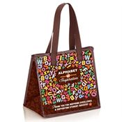 Alphabet Of Inspiration Laminated Insulated Lunch Bag