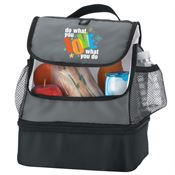 Do What You Love What You Do Bayport Dual Compartment Lunch Bag