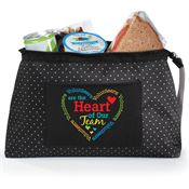 Volunteers Are The Heart Of Our Team Laurel Clutch Lunch Bag