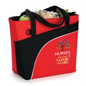 Nurses: It's In Our Nature To Care Red Harvard Lunch/Cooler Bag