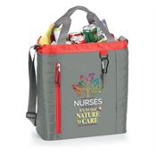 Nurses: It's In Our Nature To Care Red Seville Quilted Cooler Bag
