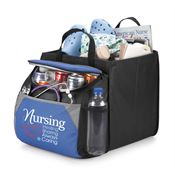 Nursing: Healing, Sharing, Always Caring Berkeley Cooler With Collapsible Storage Cube