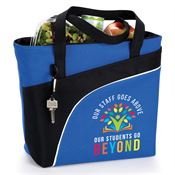 Our Staff Goes Above, Our Students Go Beyond Harvard Lunch/Cooler Bag