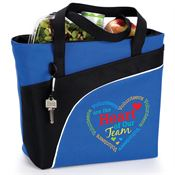 Volunteers Are The Heart Of Our Team Harvard Lunch/Cooler Bag