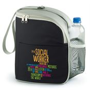 I'm A Social Worker Therefore I... Eastport Lunch/Cooler Bag