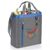 Volunteers Are The Heart Of Our Team Seville Quilted Cooler Bag