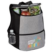 We Don't Do Average, We Do Awesome! Gray Hemingway Backpack Cooler
