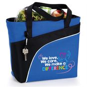 We Love, We Care, We Make A Difference Harvard Lunch/Cooler Bag