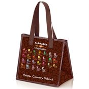 Alphabet Of Inspiration Laminated Insulated Lunch Bag - Personalization Available