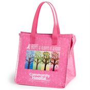 Hope Is Always In Season Insulated Laminated Eco-Lunch Bag With Personalization