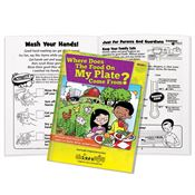 Where Does The Food On My Plate Come From? Common Core Activities Book - Personalization Available