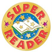 Super Reader Lapel Pin