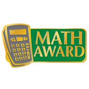 Math Award Lapel Pin