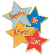 Together We Achieve More Lapel Pin