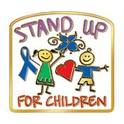 Stand Up For Children Lapel Pin With Presentation Card
