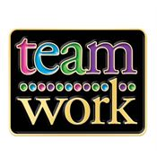 Teamwork Lapel Pin With Presentation Card