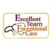 Excellent Team, Exceptional Care Lapel Pin With Presentation Card
