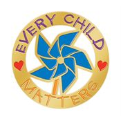 Every Child Matters Lapel Pin With Presentation Card