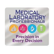 Medical Laboratory Professionals Precision In Every Decision Lapel Pin With Presentation Card