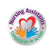 Nursing Assistants: Compassion In Action Lapel Pin With Presentation Card