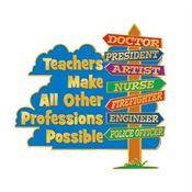 Teachers Make All Other Professions Possible Lapel Pin With Presentation Card