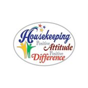 Housekeeping: Positive Attitude Positive Difference Lapel Pin with Presentation Card