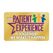 The Patient Experience Together We Make It Happen Lapel Pin With Presentation Card