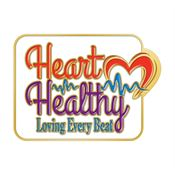 Heart Healthy Loving Every Beat Lapel Pin