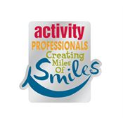 Activity Professionals: Creating Miles Of Smiles Lapel Pin With Presentation Card