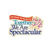 Individually We Are Special, Together We Are Spectacular Lapel Pin With Presentation Card
