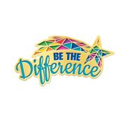 Be The Difference Lapel Pin With Presentation Card