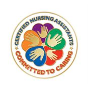 Certified Nursing Assistants: Committed To Caring Lapel Pin With Presentation Card