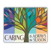 Caring Is Always In Season Lapel Pin With Presentation Card