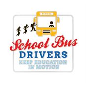 School Bus Drivers Keep Education In Motion Lapel Pin With Presentation Card