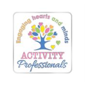 Activity Professionals: Engaging Hearts And Minds Lapel Pin With Presentation Card