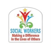 Social Workers: Making A Difference In The Lives Of Others Lapel Pin With Presentation Card