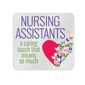 Nursing Assistants: A Caring Touch That Means So Much Lapel Pin With Presentation Card