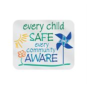 Every Child Safe, Every Community Aware Lapel Pin with Presentation Card