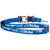 College Is Not Just A Dream...It's The Plan™ Detachable 2GB USB Flash Drive Lanyard