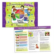 Good Nutrition Starts With MyPlate Laminated Placemat (Spanish) - Personalization Available