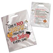 Fire Is No Treat... Practice Fire Safety Every Day! Trick-Or-Treat Mylar Bag (Non-Personalized)