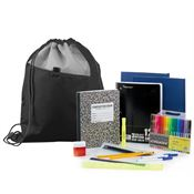 Budget Middle/High School Kit With Drawstring Backpack
