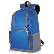 Mountain Laptop Backpack - Blue